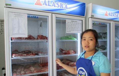 TP.HCM có điểm bán thịt heo 35.000 đồng/kg