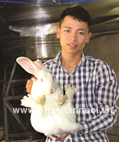 """Giám đốc HTX Bắc Sơn: Thành công nhờ """"mê"""" thỏ"""