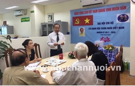 Đại hội Chi bộ Hội Chăn nuôi Việt Nam thành công tốt đẹp