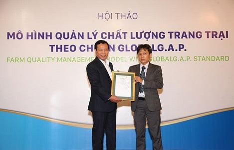 ANOVA FARM: Đạt chứng nhận GlobalG.A.P cho trang trại heo đầu tiên tại Việt Nam
