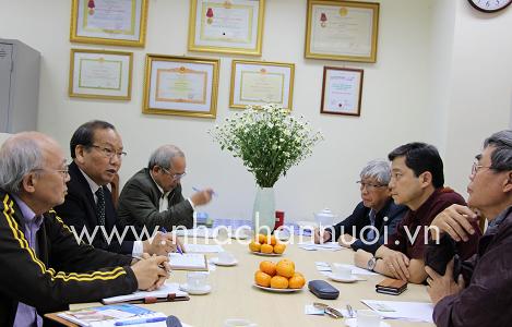 Hội Chăn nuôi Việt Nam: Tiếp đoàn làm việc của Công ty JAPFA