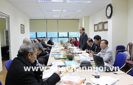 Hội Chăn nuôi Việt Nam họp ban Thường vụ