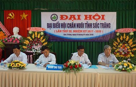 Đại hội đại biểu Hội Chăn nuôi tỉnh Sóc Trăng, nhiệm kỳ 2017 – 2020