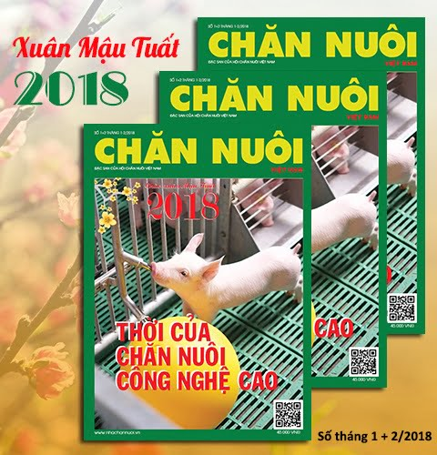 Đón đọc Tạp chí Chăn nuôi Việt Nam Xuân Mậu Tuất 2018