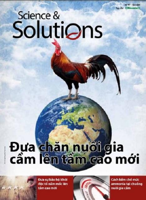 Ấn phẩm Science & Solutions số 47: Đưa chăn nuôi gia cầm lên tầm cao mới
