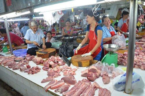 Thị trường thịt heo Thái Lan và Việt Nam