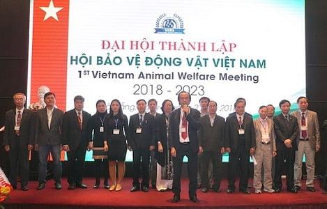 Chính thức ra mắt Hội bảo vệ động vật Việt Nam