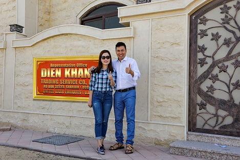 Công ty Diên Khánh mở văn phòng đại diện tại Dubai