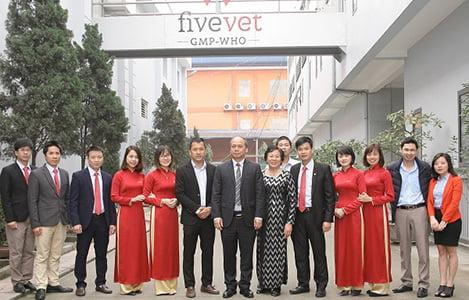Công ty CP Thuốc thú y Trung ương 5 (Fivevet) tuyển dụng nhân sự