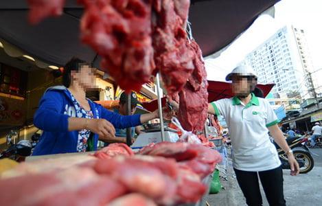 Thịt bò 60.000 đồng/kg là thịt... heo nái và thịt trâu?