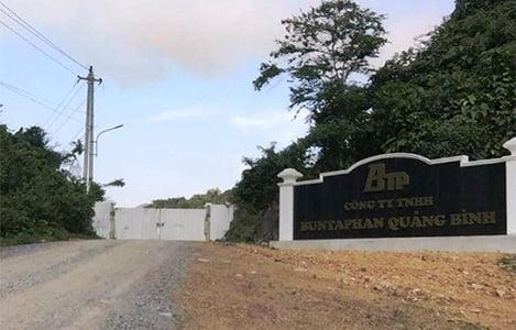 Hàng loạt sai phạm tại dự án chăn nuôi lợn công nghệ cao của công ty Buntaphan Quảng Bình