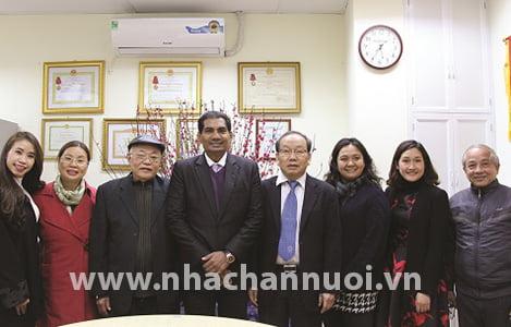 HỘI CHĂN NUÔI VIỆT NAM: Làm việc với Công ty UBM Asia