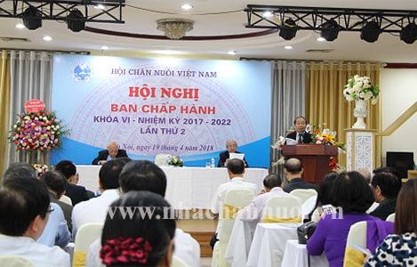 HỘI CHĂN NUÔI VIỆT NAM: Tổ chức thành công Hội nghị Ban chấp hành khóa VI lần thứ 2