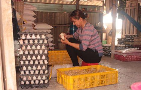 Bà Rịa - Vũng Tàu: Trứng gia cầm tăng giá mạnh