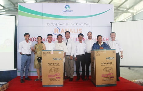 Neovia: Giới thiệu thức ăn chăn nuôi chuyên biệt dành cho ếch