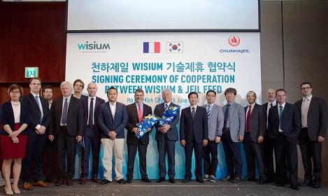Công ty Wisium: Mở rộng hợp tác kỹ thuật với công ty thức ăn chăn nuôi hàng đầu Hàn Quốc