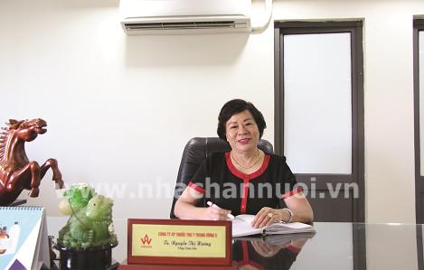 """TS Nguyễn Thị Hương, Tổng Giám đốc FIVEVET: """"Bông hồng thép"""" của ngành Thuốc Thú y Việt Nam"""