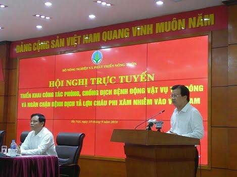 Ngăn chặn bệnh dịch tả lợn châu Phi xâm nhiễm vào Việt Nam