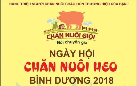 Sắp diễn ra Ngày hội chăn nuôi heo tỉnh Bình Dương 2018