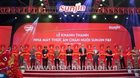 Khánh thành nhà máy thức ăn chăn nuôi 25 triệu USD tại Hà Nam