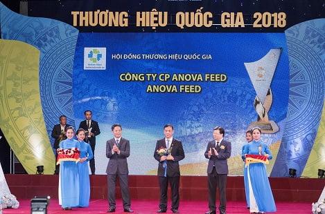 Doanh nghiệp thức ăn chăn nuôi duy nhất tại Việt Nam đạt chứng nhận thương hiệu quốc gia
