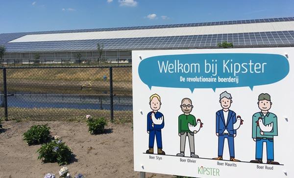 Mô hình chăn nuôi gà đẻ của tương lai ở Hà Lan
