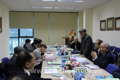 PGS.TS Nguyễn Đăng Vang, Chủ tịch Hội Chăn nuôi Việt Nam chủ trì hội nghị