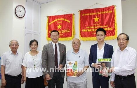 Hội Chăn nuôi Việt Nam: Làm việc với Công ty AMB Tarsus Exhibition Sdn.Bhd