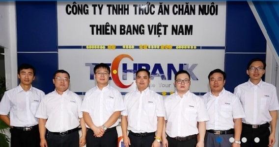 Công ty TNHH Thức ăn chăn nuôi Thiên Bang tuyển dụng nhiều vị trí