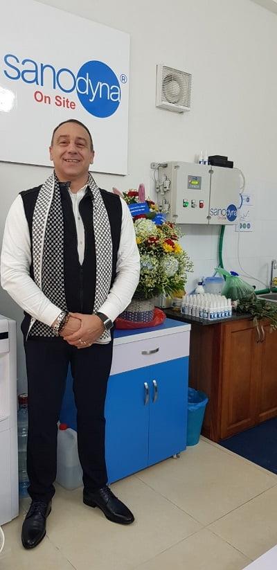Sanodyna: Giải pháp khử trùng toàn diện cho nhà chăn nuôi đến từ Italia