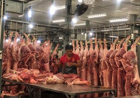 Giá thịt heo ở Sài Gòn đang tăng chóng mặt
