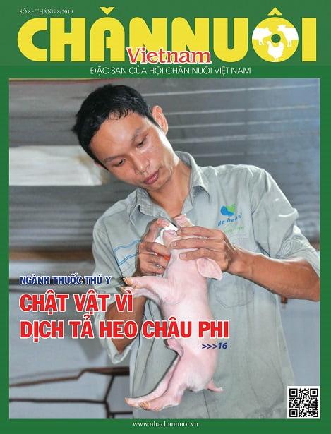 Đón đọc Tạp chí Chăn nuôi Việt Nam số tháng 8.2019