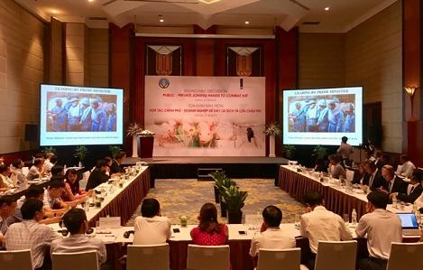 Việt Nam và Hà Lan chia sẻ kinh nghiệm phòng chống dịch tả lợn châu Phi