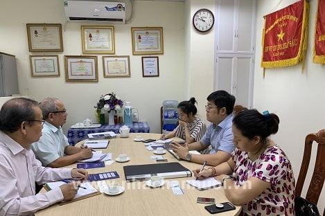 Hội Chăn nuôi Việt Nam làm việc với Công ty BSR Việt Nam