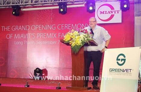 MIAVIT khánh thành nhà máy sản xuất premix đầu tiên tại Việt Nam
