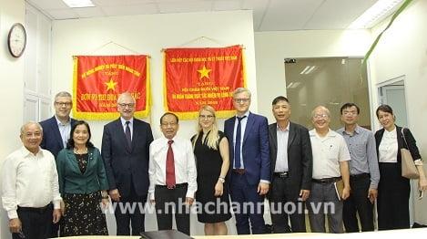 HỘI CHĂN NUÔI VIỆT NAM: Làm việc với Thứ trưởng Bộ Nông nghiệp Litva
